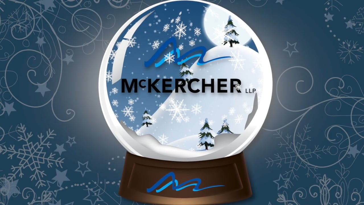 Video thumbnail for McKERCHER LLP GIFT OF WARMTH 2015