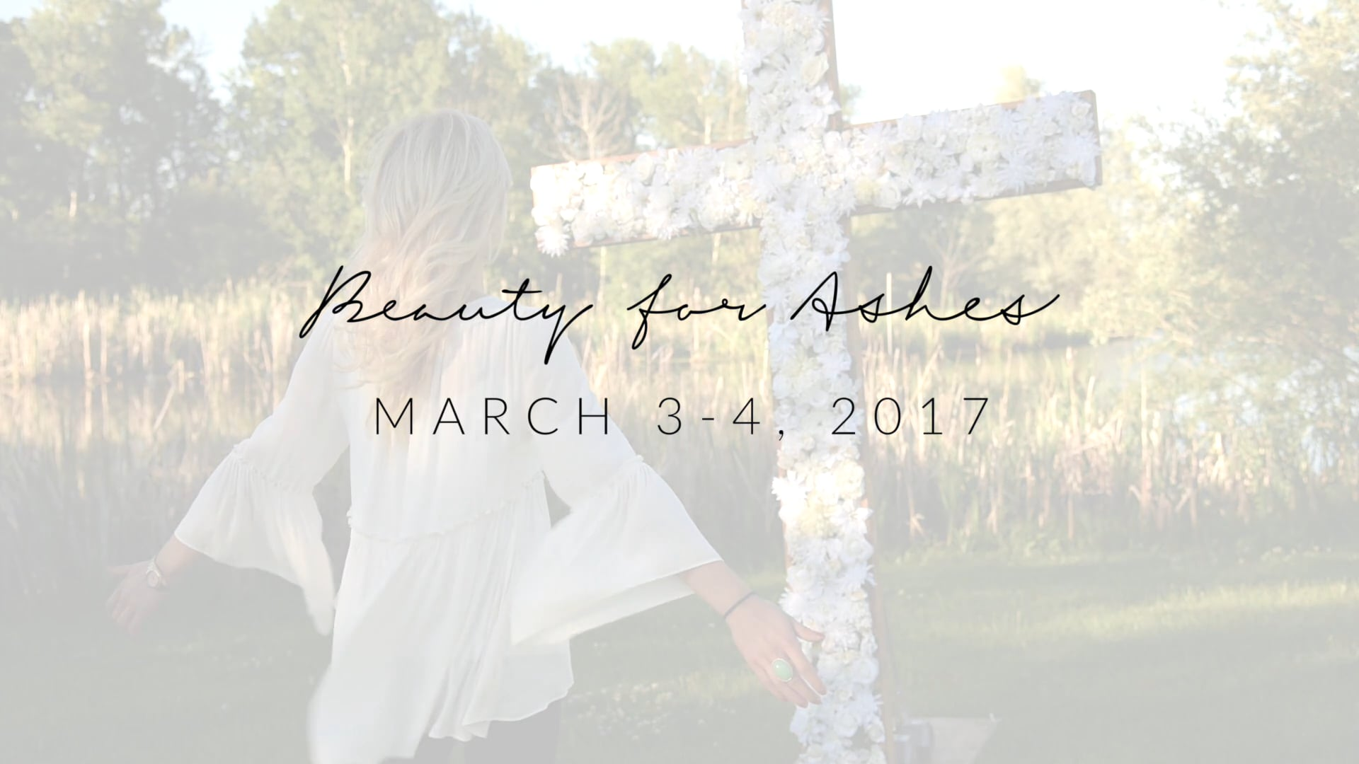 Video thumbnail for ELIM SISTERHOOD- BEAUTY FOR ASHES