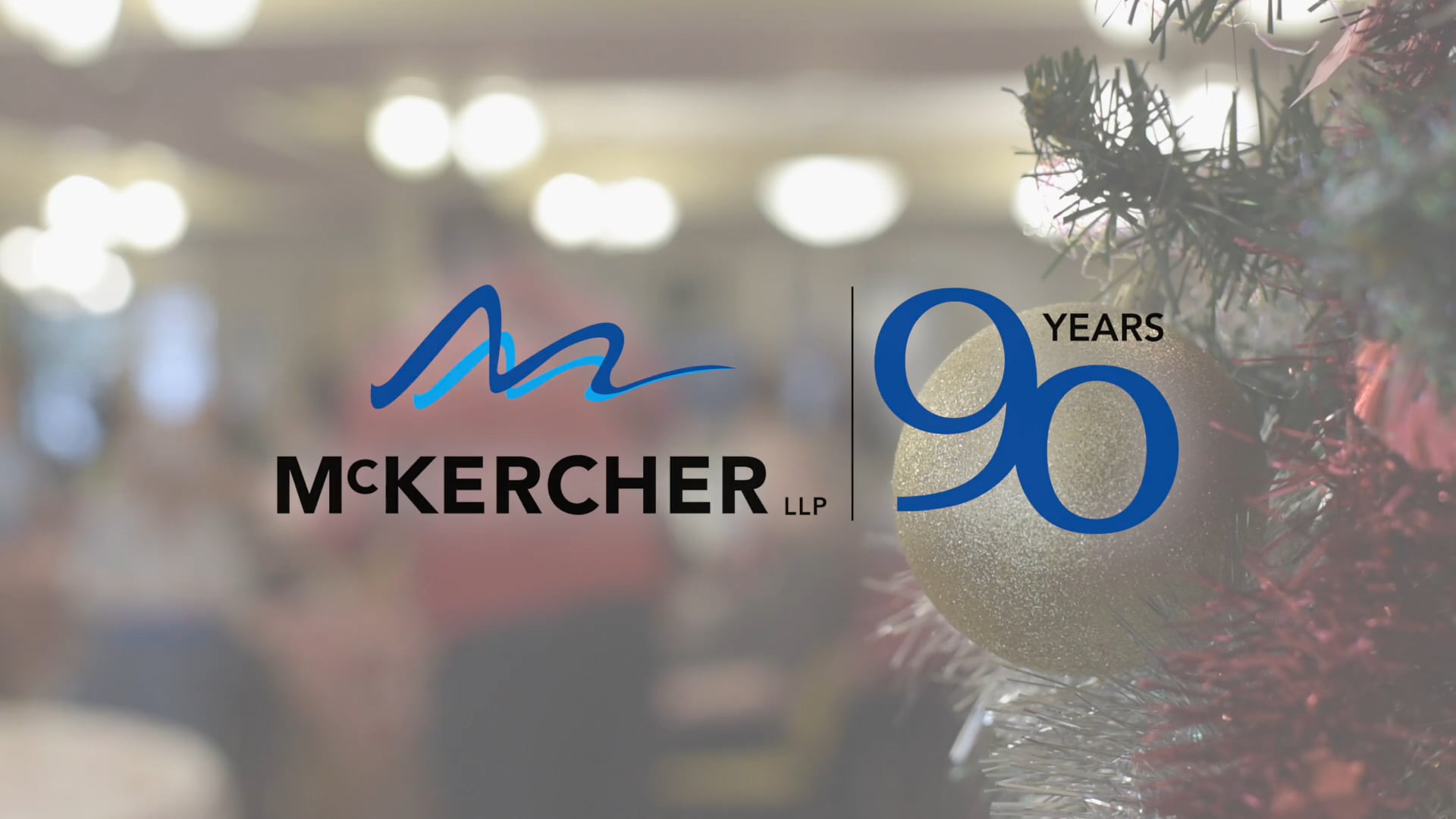 Video thumbnail for MCKERCHER LLP XMAS 2016