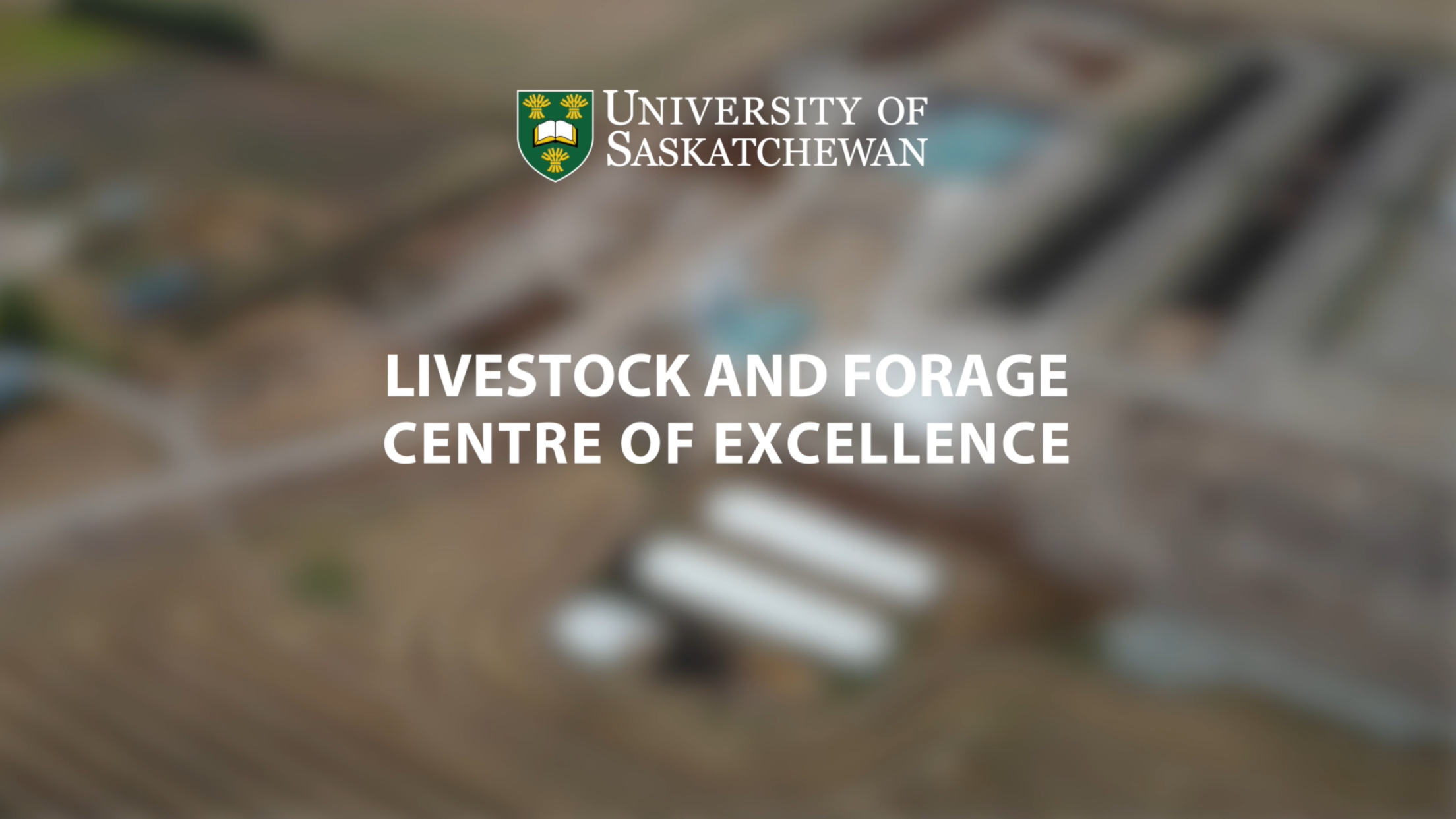 Video thumbnail for LIVESTOCK AND FORAGE CENTRE OF EXCELLENCE 2018